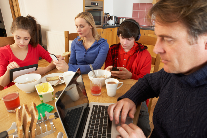 eating together teens young adults importance